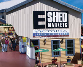 The E Shed Markets - Tourism Guide