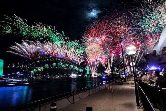New Year's Eve under the Sydney Opera House Sails on Sydney Harbour - Tourism Guide